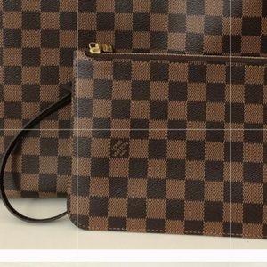 Louis Vuitton Neverfull Pochette pouch clutch New